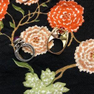 Romance Vintage Ring Lot 🤎